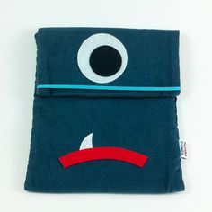 Blue is your ipad protector, ready to fight. Ipad Sleeve, Designer Toys, Soft Sculpture, Ipad Case, Drink Sleeves, Plush, Sweatshirts