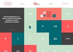 Shape Christmas   CSS Website