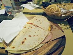 """Piadina - """"Two food-filled days in Bologna"""" by @Jess Dante"""