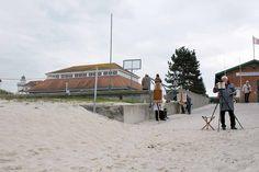 Freies Malen während des Plein Air Festival | Plein Air Malerei an der Kunsthalle Kühlungsborn während des Festivals – Malen an der Ostsee (c) FRank Koebsch