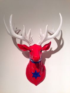 Stag head 'Yanky-Doodle-Dandy', £45.00