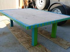 The Creative Homemaker: Tutorial-DIY lego table