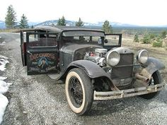 Plymouth : Other 4dr sedan rat rod 1930 Plymouth, - http://www.legendaryfinds.com/plymouth-other-4dr-sedan-rat-rod-1930-plymouth-3/