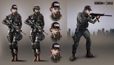 Tom Clancy's Rainbow Six Siege - Ash Concept