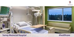 Parkin Architects Limited | Surrey Memorial Hospital #healthcare #architecture #design