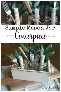 Join me, and see how easy it is to make a Simple Mason Jar Centerpiece. Using materials from around your home along with a music sheet.