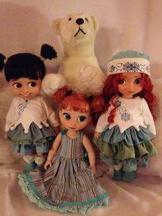 Boo, Anna, and Merida! | Flickr - Photo Sharing! Disney Animators Collection