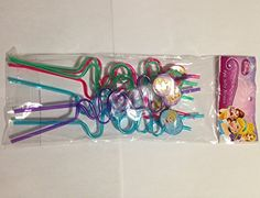cool Disney Princess 8pk Silly Straws Check more at http://partythemesforbirthday.com/product/disney-princess-8pk-silly-straws/