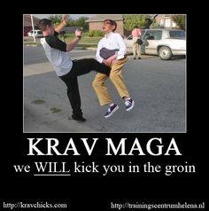repin--love this photo lol--Krav Maga www.facebook.com/McDojoLife