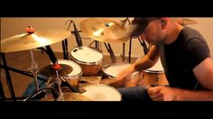 """Roberto Serrano playing Drums, """"Truth or Consequences"""" 2013"""