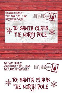 Santa Letter For Your Child Or Grandchild Santa Christmas