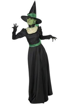 Classic Witch Adult Costume #Halloween #costumes #witches