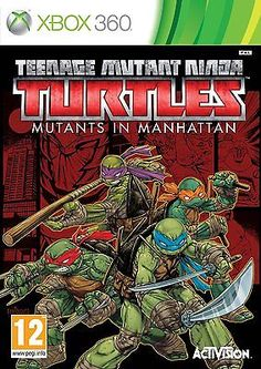 Teenage #mutant #ninja turtles: #mutants in manhattan #(xbox 360) brand new sealed,  View more on the LINK: http://www.zeppy.io/product/gb/2/121995244528/