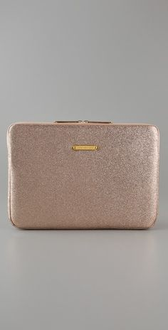 """$68 - 13"""" Glitter Laptop Sleeve. Have this case in silver, love of my life #glitterinjuicycouture #givemewhatIwant"""