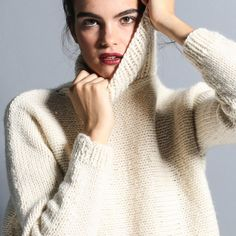 Kide Sweater / tricoter un pull we are knitters / knitting kit / tricoter un pull
