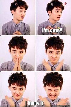 D.O you are such a squishy~! So cute~! keke I wanna squish your cute face and kiss your cheek~! *pouts* Saranghae Kyungsoo oppa~ most adorable human being ever I luv ya! Kyungsoo, Sehun Oh, Kaisoo, Chanbaek, Btob, Tvxq, Kpop Exo, 2ne1, K Pop
