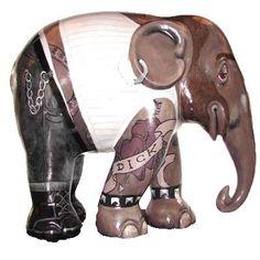 hihaholifant 2007 rotterdam Asian Elephant, Elephant Love, Elephant Art, Elephant Sculpture, Sculpture Art, Sculptures, Painted Elephants, Elephant Parade, Elephant Jewelry