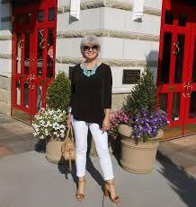 Resultado de imagen para blusas casual para señoras de 70 años