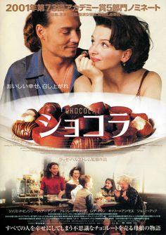 「サイダーハウス・ルール」のラッセ・ハルストレム監督がジュリエット・ビノシュ、ジョニー・デップ主演で描く愛のファンタジー。古くからの伝統が根付くフランスの小さな村に、ある日謎めいた母娘がやってきてチョコレート・ショップを開店する。