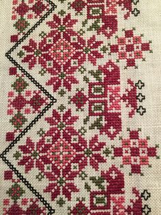 Folk Embroidery Bilderesultat for skjort beltestakk - Tiny Cross Stitch, Xmas Cross Stitch, Cross Stitch Borders, Cross Stitch Alphabet, Cross Stitch Flowers, Cross Stitch Designs, Cross Stitching, Cross Stitch Patterns, Creative Embroidery