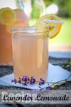 The Freckled Fox : Em's Easy Lavender Lemonade
