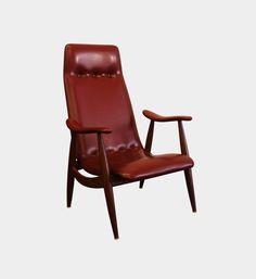 Highback armchair Denmark 1960s/1970s www.forform.pl