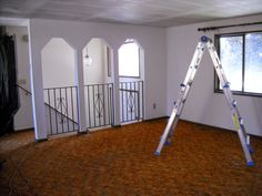 inspiring bi level home ideas. A different look to the pillars idea  Our Split Level Fixer Upper Entry Way with wall instead of railing Home Sweet Pinterest