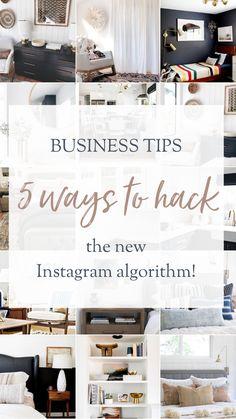 BUSINESS TIPS: 5 ways to hack the instagram algorithm | The Vintage Rug Shop Business Pages, Business Tips, Rug Shop, New Instagram, 5 Ways, Vintage Rugs, Entrepreneur, Blogging, Hacks