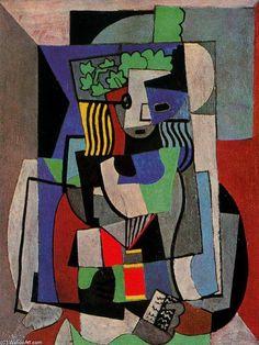 'La alumna', óleo de Pablo Picasso (1881-1973, Spain)
