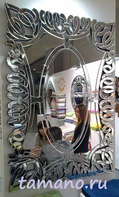 Зеркало венецианское, арт. 508, Париж, 120см х 85см - Тамано.ру