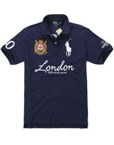 2012 Ralph Lauren London Olympic Games Polo Navy