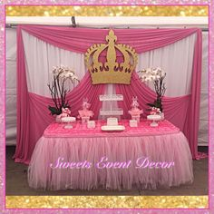 Baby Shower Main Table Backdrop | CatchMyParty.com