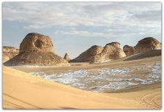 White Desert / Egypt by Habub3, via Flickr