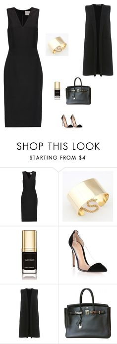 """""""Без названия #1719"""" by newyorkstylrer ❤ liked on Polyvore featuring Dion Lee, Dolce&Gabbana, Gianvito Rossi, Mint Velvet and Hermès"""