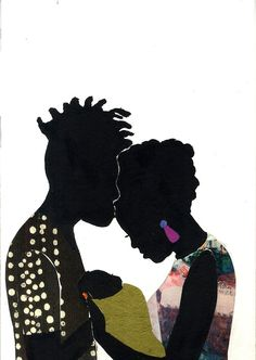 Artist and illustrator Jamilla Okubo celebrates beautiful stages of black love in her 'Love You' series