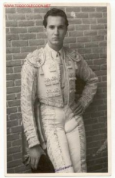 Luis Miguel Dominguin - Famous bullfighter.  Spanish Icon.