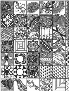 My new favorite art form~Zentangle Doodles! Doodles Zentangles, Tangle Doodle, Tangle Art, Zentangle Drawings, Zen Doodle, Doodle Drawings, Doodle Art, Pencil Drawings, Doodle Patterns