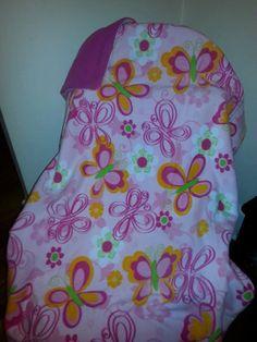 Butterfly Pink Wonder Fleece Blanket by WreathClothsbyDee on Etsy, $17.00