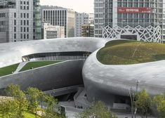 Zaha Hadid's Dongdaemun Design Plaza captured in new photographs