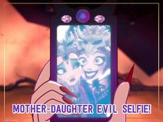 A mother-daughter selfie a day keeps Evil Queens at bay… at least for a little while.