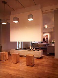 Der Kamin im Loft in unserem #Hotel bringt die Wärme und Gemütlichkeit in den Raum