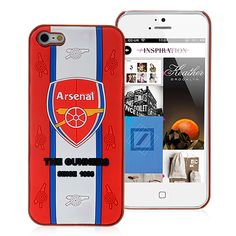 Football Club Arsenal Logo iPhone 5 Cover Case #arsenal #football #club #iphone5 #apple #iphone #cellz.com $4.18