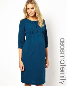 ASOS Maternity | ASOS Maternity Exclusive Midi Dress at ASOS