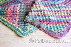 Spring Into Summer Blanket Free Pattern