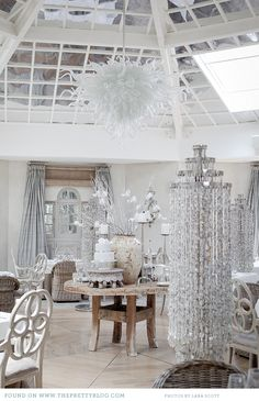 Shabby Chic Entertaining: If Jason would let me this is some of what would be in our house.