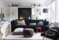 iskandinav oturma odası modeli