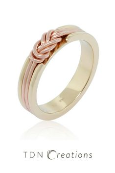 Climbing knot ring.