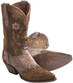 Dan Post Penny Floral Cowboy Boots