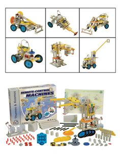 Remote Control Machines Kit - Keep The Kids Busy For Hours