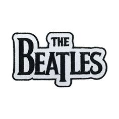 The Beatles Band Patch Embroidered Punk Music Iron On Sew On Patch